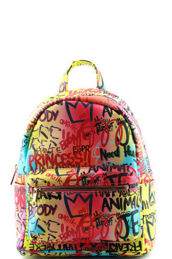 GRAFFITI RAINBOW BACKPACK