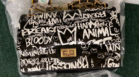 GRAFFITI BAG Black