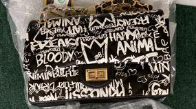 GRAFFITI BAG Black