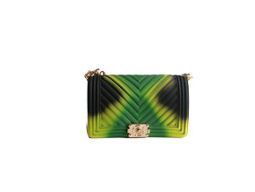 MIX JELLY PURSE Green