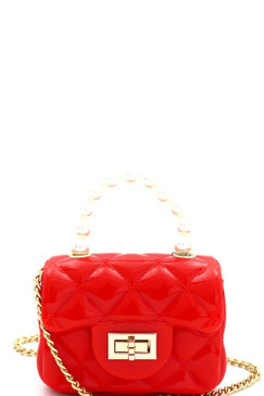 PEARLA MINI JELLY Red