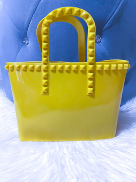 MINI JELLY TOTE Yellow