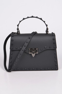KELLY JELLY PURSE Black