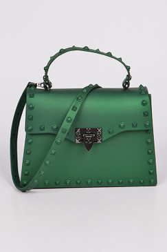 KELLY JELLY PURSE Green