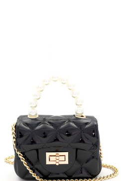 PEARLA MINI JELLY Black