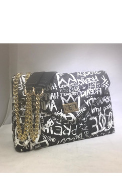 FAB GRAFFITI BAG Black