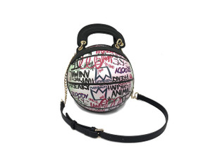 BALL PINK GRAFFITI  BAG