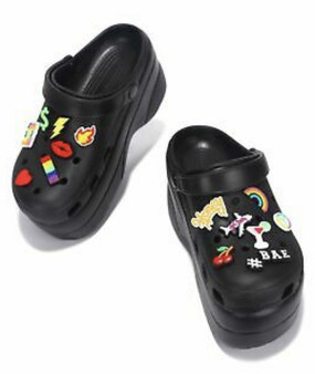 FANCY CLOGS Black