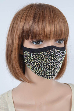 Fancy Bling Face Cover