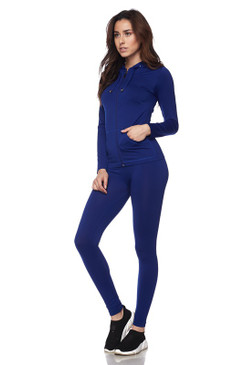 Ola Seamless Set Royal Blue