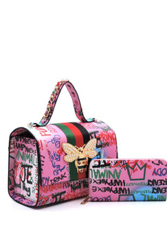 Queen Graffiti Bag Pk