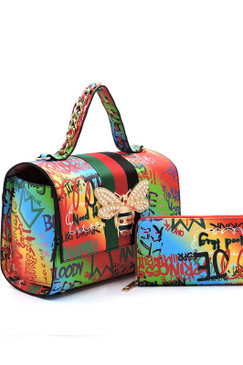 Queen Graffiti Bag Mlt