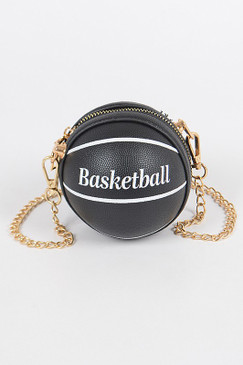 Basketball Mini Bag Black
