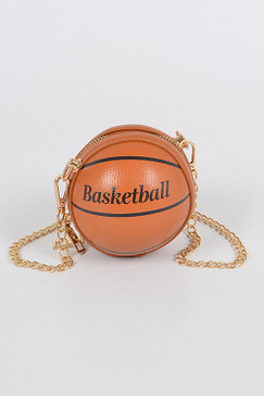 Basketball Mini Bag Brown
