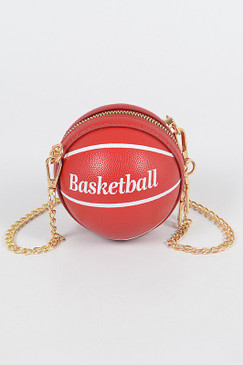 Basketball Mini Bag Red