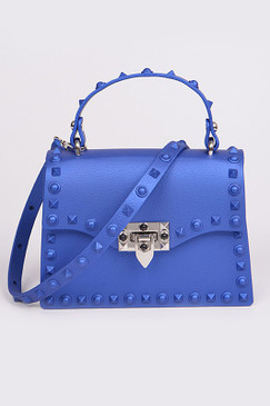 Kelly Small Jelly Purse Royal Blue