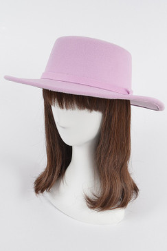 Fashion Fedora Hat Lavender