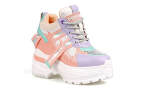 Multi Swag Pastel Sneakers