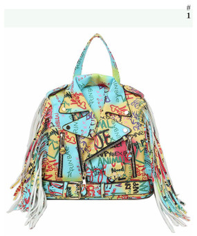 Graffiti Jacket Bag Multi