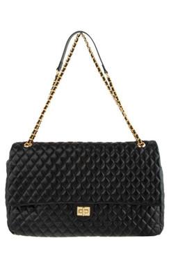 Jumbo Qulit Bag Black