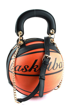 Basket Ball Bag Brown