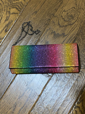 LALA RAINBOW CLUTCH B