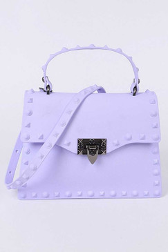 Kelly Jelly Purse Lavender