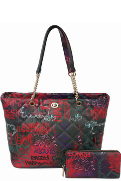 2 in 1 Graffiti Bag Dk