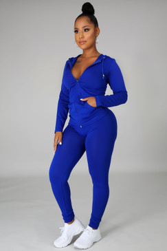 Ola Seamless Set Royal