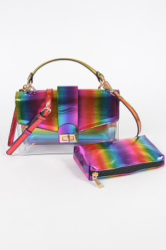 Lala Rainbow Glam Bag