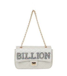 Quilted Billion Purse Pearl