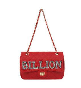 Quilted Billion Purse Red