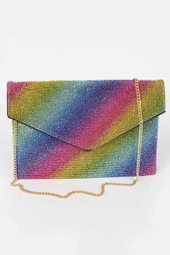 Lala Bling Envelope Clutch