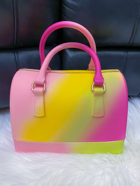 Kelly Swag  Jelly Purse Pink