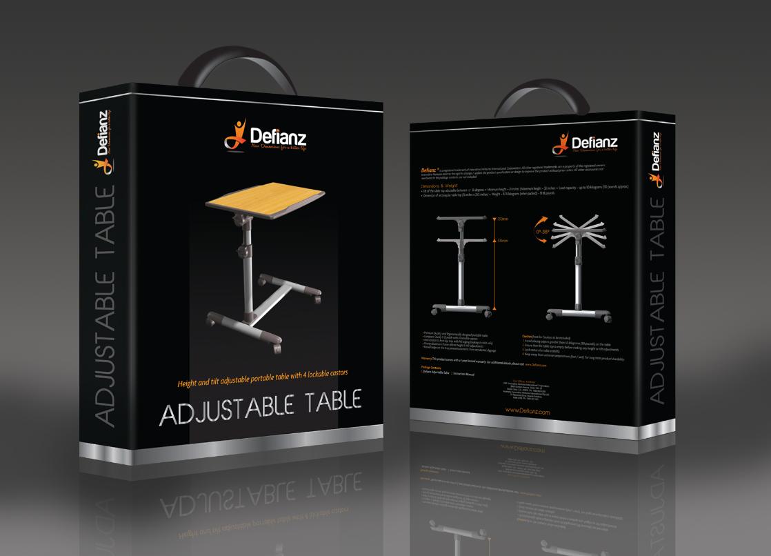 defianz.com retailbox-defianz-height-and-tilt-adjustable-table