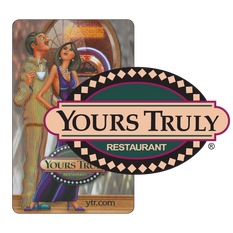 Yours Truly Restaurant Gift Card