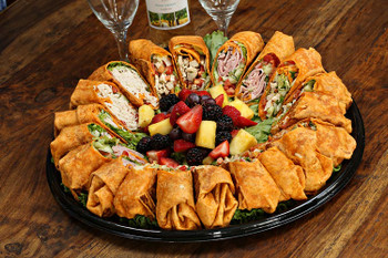 Get a full tray of your favorite wrap or a selection that's sure to please everyone. You can't go wrong with the Grilled Chicken Wrap or the spicy, but not too spicy, Buffalo Chicken Wrap. Non-meat eaters can rejoice! The Garden Burger Wrap is just for them!