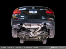AWE Tuning BMW F22 M235i Exhaust Suite