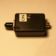 1.3um Fabry-Perot laser diode 0.5 mW with switch and case