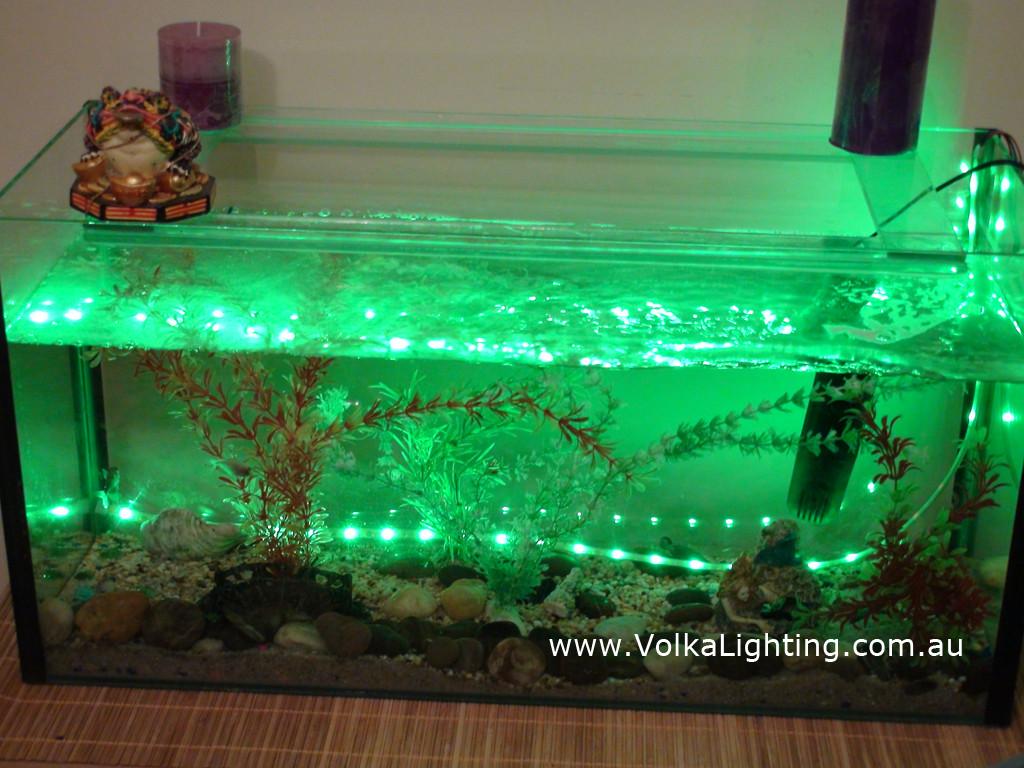 Rgb Fish Tank Aquarium Fountain Pond Waterproof Led Light Kit