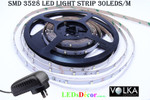 3528 30 LEDs/m Non-Waterproof White LED Light D.I.Y Kit