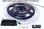 3528 30 LEDs/m Non-Waterproof  White LED Light D.I.Y Kit Type 2