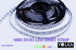 SMD 5630 60 pcs/m Non-Waterproof 19.8W/m 12V