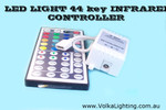 LED Controller 44-key IR Remote Control 3 Channel RGB
