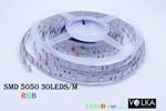 SMD 5050 30 pcs/m Non-Waterproof