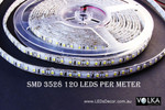 SMD 2835 120 pcs/m Water Resistant 9.6W/m 12V
