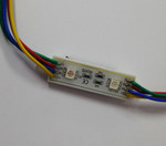 5050 2 LEDs String Sign  Module RGB 12V