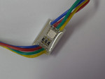 5050 1 LED String Sign  Module RGB
