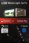 Ambient Back Light  for TV Blue 5V USB Powered
