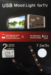 Ambient Back Light  for TV Cool White 5V USB Powered